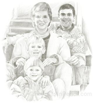Portrait of Bryan's%20family